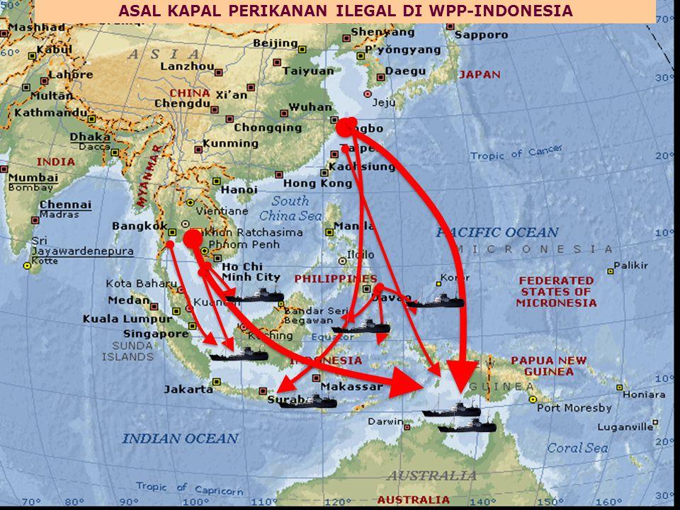 ASAL KAPAL PERIKANAN ILEGAL DI WPP-INDONESIA
