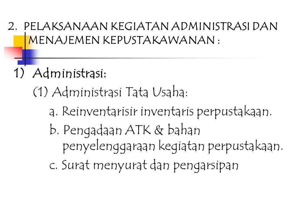 6.Pengelola/SDM, meliputi: 1) Pengelolaan administrasi dan manajemen Pengelola/SDM 2) Pengembangan pengelola/SDM melalui pendidikan formal dan atau di