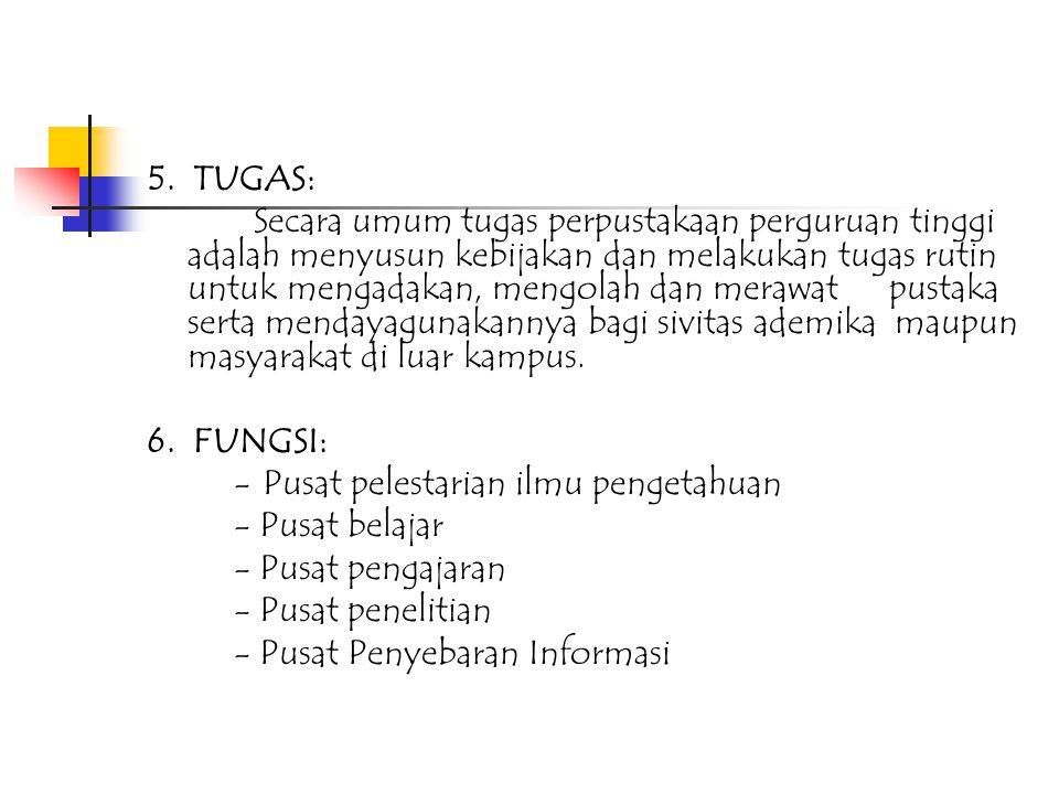 1.Semua pengunjung yang akan memanfaatkan jasa perpustakaan karena STP Jurluhkan Bogor diharuskan mematuhi peraturan yang telah ditetapkan 2.Hal-hal yang belum ditetapkan dalam peraturan pelayanan perpustakaan STP Jurluhkan Bogor ini, akan diatur kemudian.