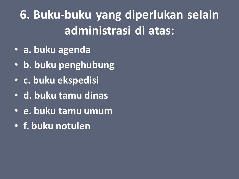 5.Administrasi Keuangan a. RAPBS (Rencana Anggaran Pendapatan dan Belanja Sekolah TK/RA) b.