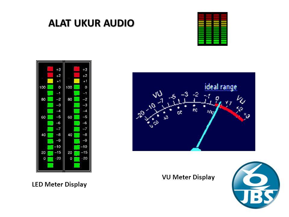 ALAT UKUR AUDIO LED Meter Display VU Meter Display