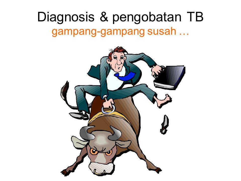 Diagnosis & pengobatan TB gampang-gampang susah …