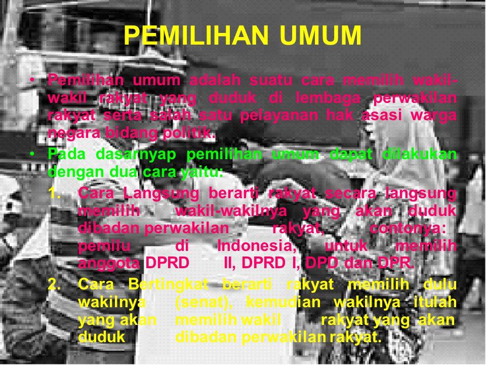 PORTOPOLIO Buatlah Analisis Pelaksanaan Demokrasi di Indonesia sejak Proklamasi Kemerdekaan hingga sekarang ! Analisis didasarkan pada : Deskripsi Pel