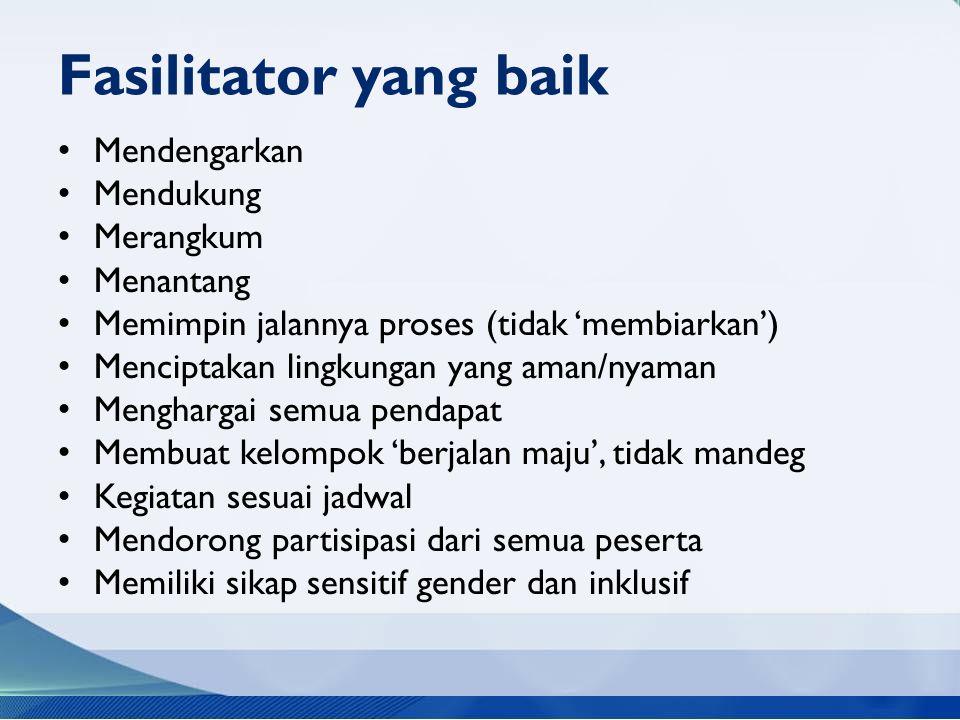 Application – 80' Kegiatan 1: Amati Video Pelatihan (20') Amatilah video pelatihan berikut, apa saja yang dilakukan fasilitator dalam pelatihan tersebut.