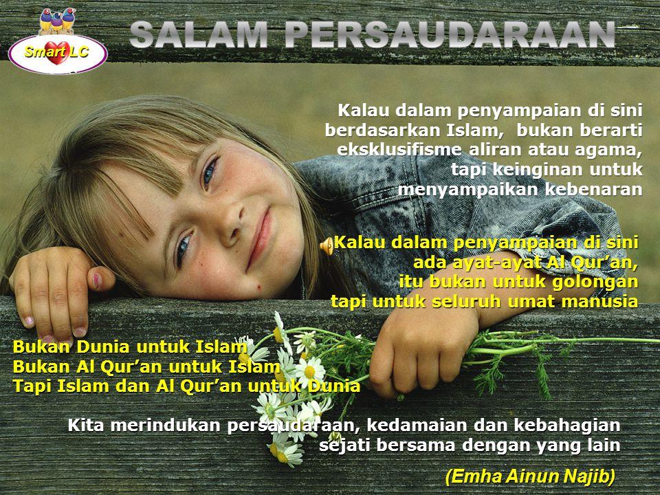"""Setiap hari adalah kado istimewa dari Tuhan. Lalu, jika hidup selalu tampak tak adil, jangan biarkan kepedihan, kesulitan dan kelemahan pada momen it"