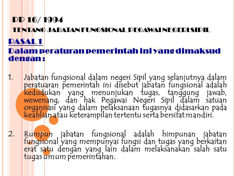 14 PP 13/ 2002/ - KEP KA BKN NO 13/ 200 2 TENTANG PENGANGKATAN PEGAWAI NEGERI SIPIL DALAM JABATAN STRUKTURAL 1. Sesuai dengan ketentuan pasal 1 angka