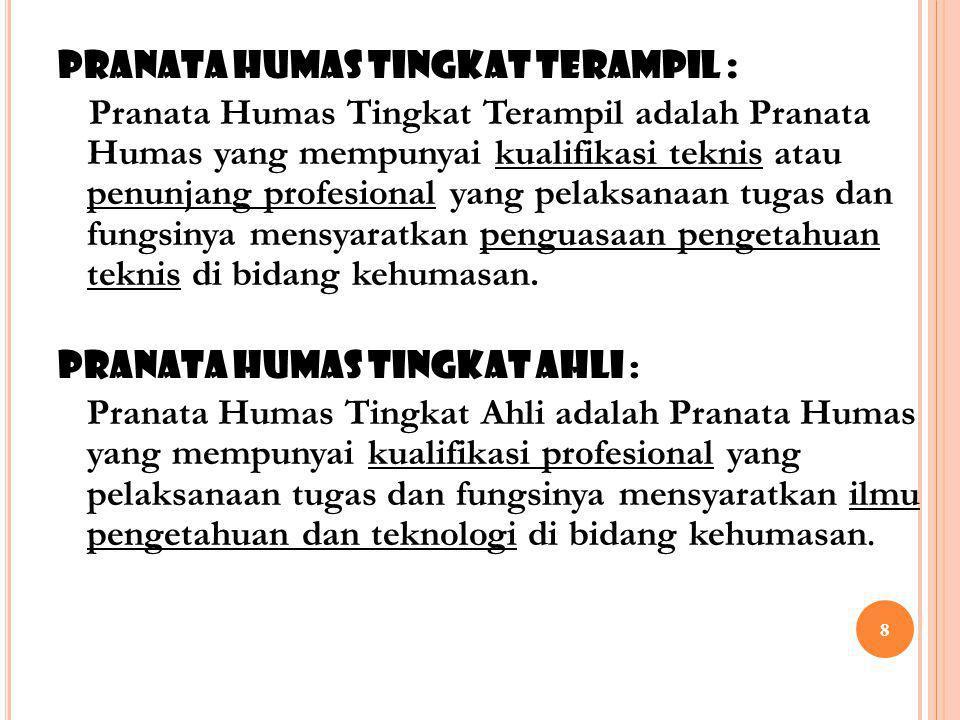 68 19.Menulis naskah untuk penerbitan kehumasan antar lembaga.