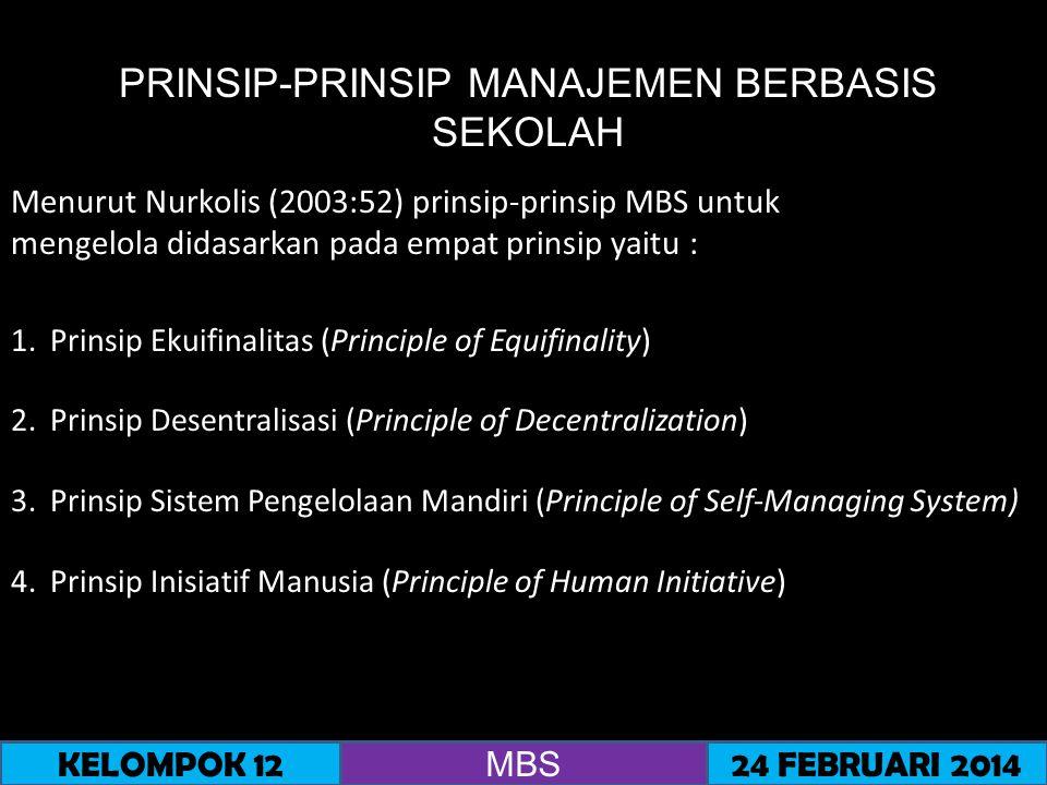 PRINSIP-PRINSIP MANAJEMEN PESERTA DIDIK BERBASIS SEKOLAH 1.MPDBS dipandang sebagai bagian dari keseluruhan manajemen sekolah.