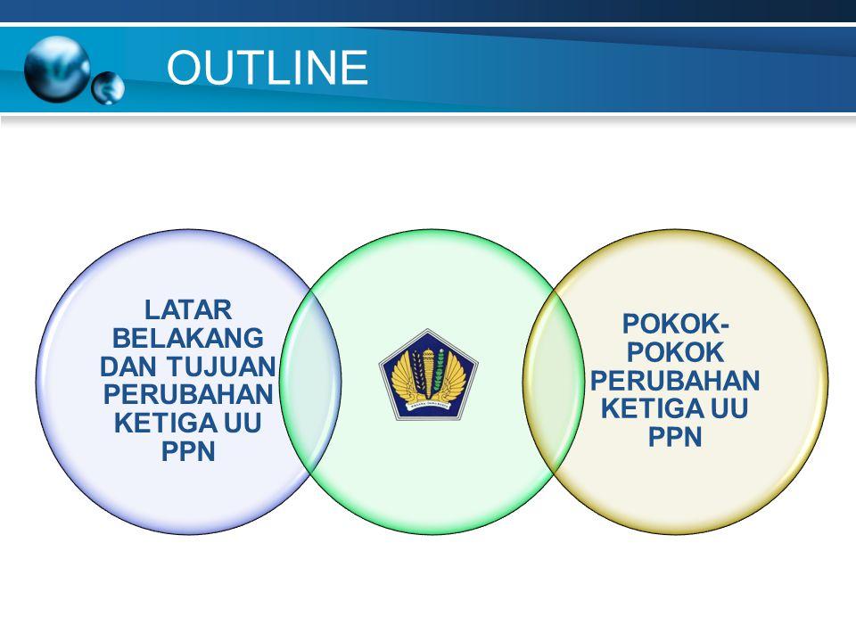 UU 18/2000 1.Hanya mengatur untuk PKP yang menggunakan norma PPh (omzet tertentu) (Psl 9 (7)) 2.Sedangkan untuk Deemed PM bagi PKP kegiatan tertentu belum diatur (selama ini menggunakan Dasar Hukum DPP Nilai Lain) PERUBAHAN (UU 42/2009) Deemed PM berlaku bagi PKP baik orang pribadi maupun badan yang: 1.
