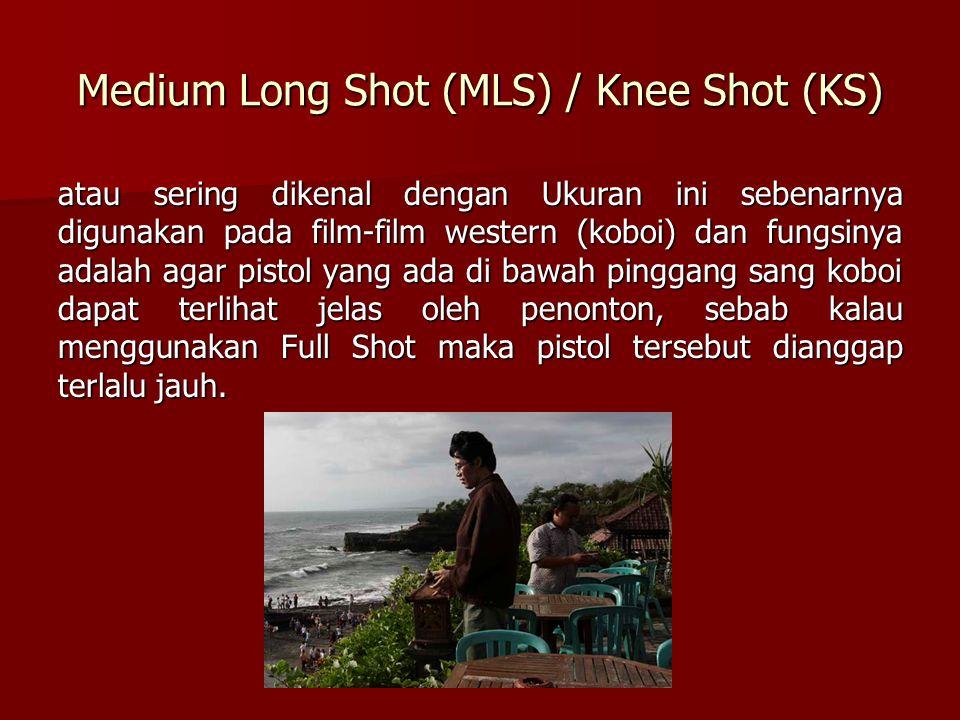 Medium Shot (MS) Tidak memiliki variasi sebab hampir seluruh type of shot yang menggunakan medium diambil ke Long Shot atau ke Close Up.