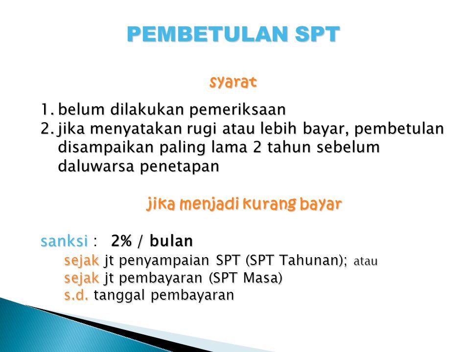 Pembetulan SPT (Pasal 8)- cont.