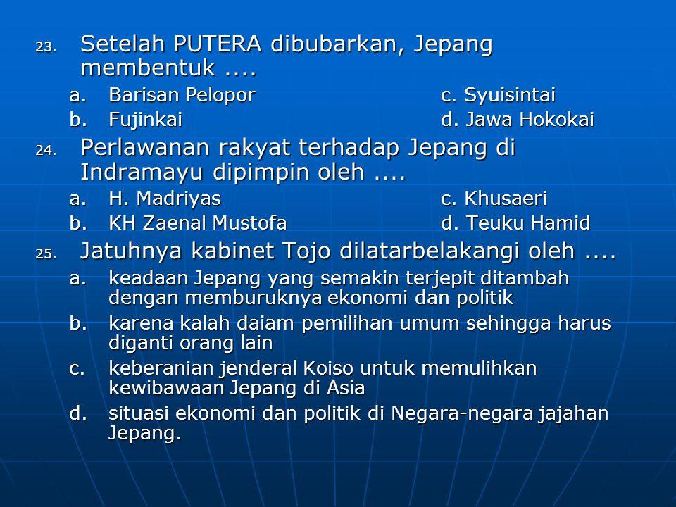 26.Janji kemerdekaan kepada bangsa Indonesia disampaikan oleh....