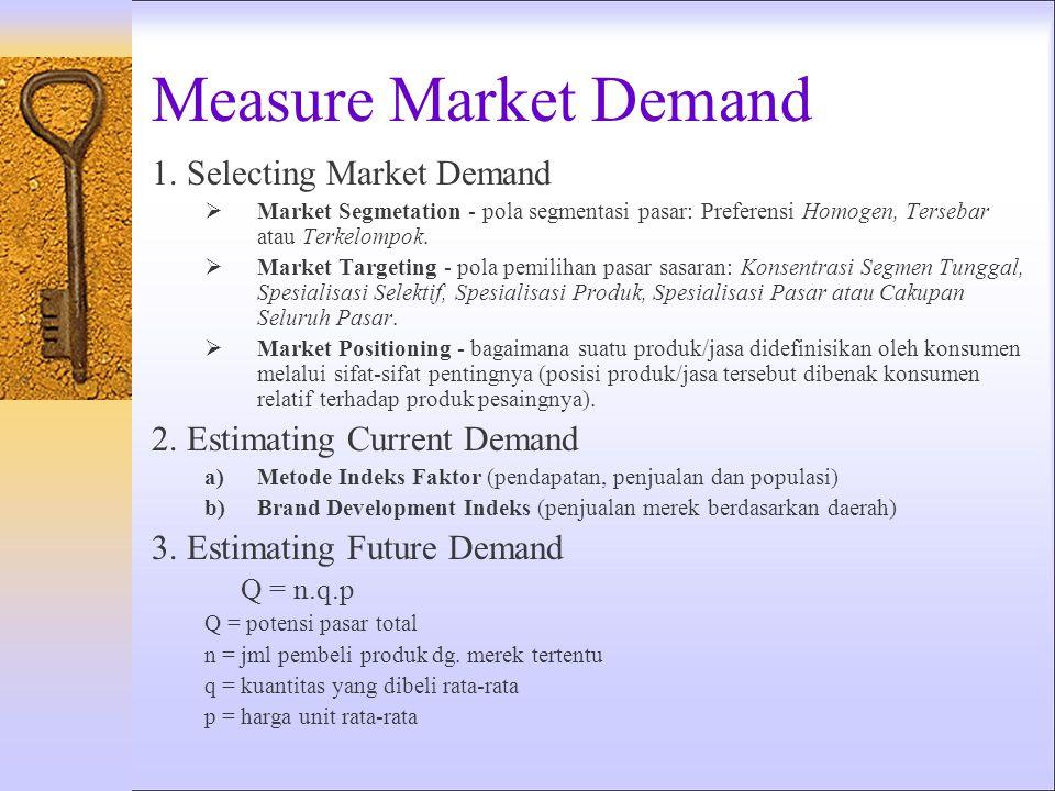 Tingkat Pemasaran berdasarkan Hubungan Marjin Tinggi Marjin Sedang Marjin Rendah Banyak Pelanggan Bertanggung Jawab ReaktifDasar Pelanggan Sedang Proa
