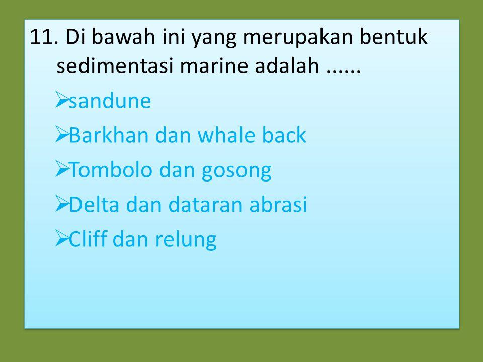 10. Faktor utama yang menyebabkan Indonesia sering mengalami gempa bumi tektonik adalah ….  banyaknya gunung api di Indonesia  pertemuan tiga lempen