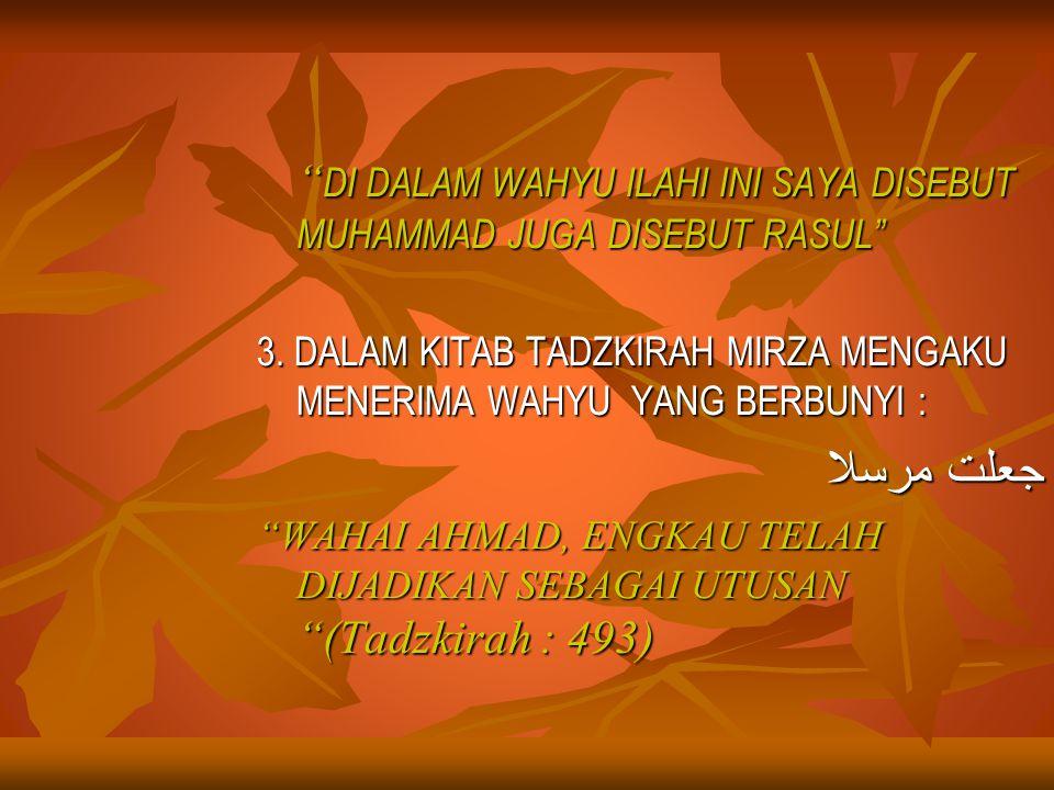 FATWA-FATWA/DASAR HUKUM YG MELARANG AL-QIYADAH AL- ISLAMIYAH 1.
