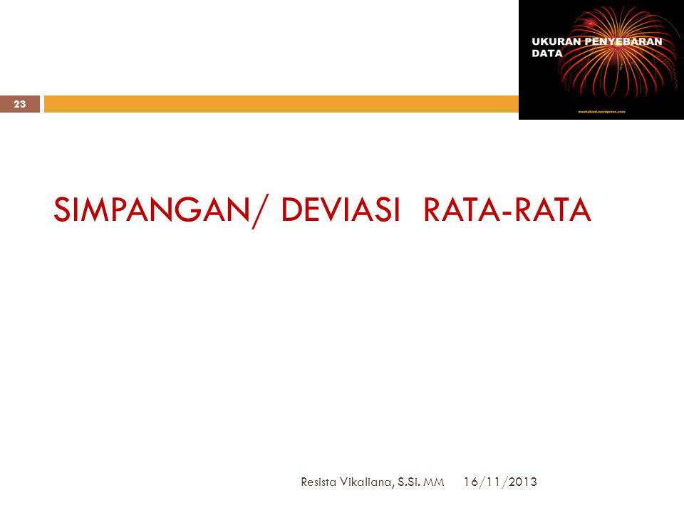 16/11/2013 Resista Vikaliana, S.Si. MM 22