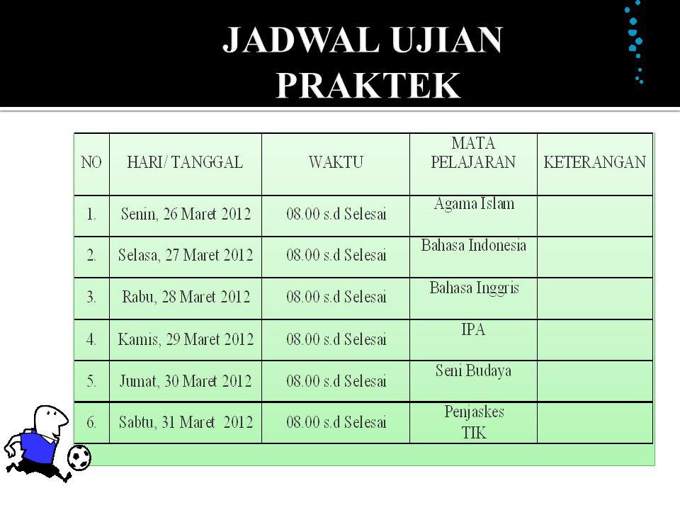 JADWAL LUN
