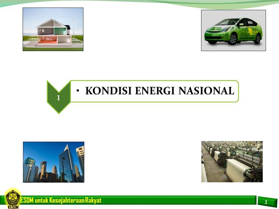 ESDM untuk Kesejahteraan Rakyat Penduduk (Juta) GDP(Trllion IDR) 2,177 3,943 6.1% 256 231 1.1% Energi (Juta SBM) 712 1,316 7.1% Pertumbuhan Penduduk Pertumbuhan Kebutuhan Energi Pertumbuhan Ekonomi