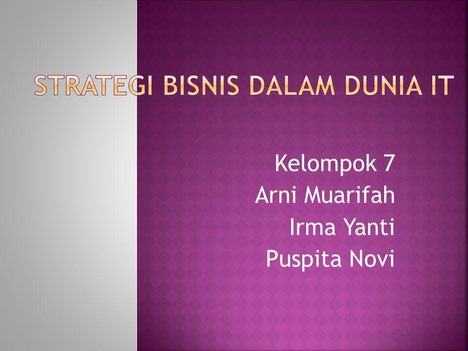 Kelompok 7 Arni Muarifah Irma Yanti Puspita Novi