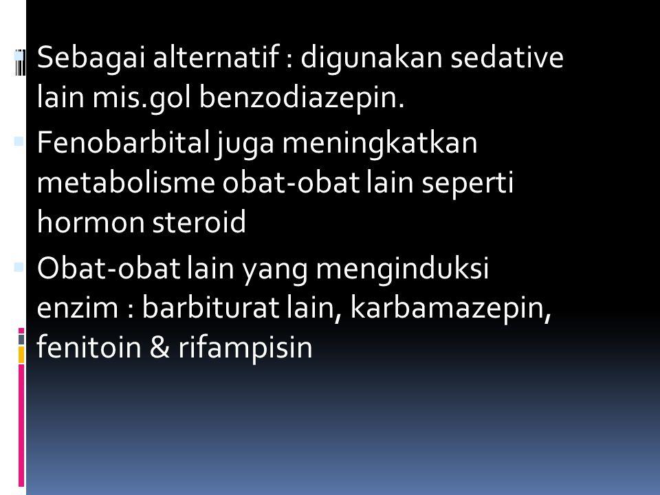 Contoh interaksi induksi enzim Obat yang dipengaruhi Obat yang menginduksi Efek interaksi Antikoagulan oral Barbiturat Karbamazepin Rifampisin Aminoglutetimid Diklorfenazon Efek antikoagulan dikurangi Kontrasepsi oral Barbiturat Karbamazepin Rifampisin Fenitoin Primidon Efek kontrasepsi dikurangi sehingga bisa terjadi kegagalan kontrasepsi