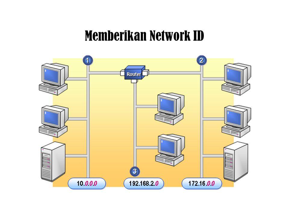 Host ID tidak boleh semuanya terdiri atas angka 0 Host ID tidak boleh semuanya terdiri atas angka 255 Nomor pertama dari Network ID tidak boleh angka
