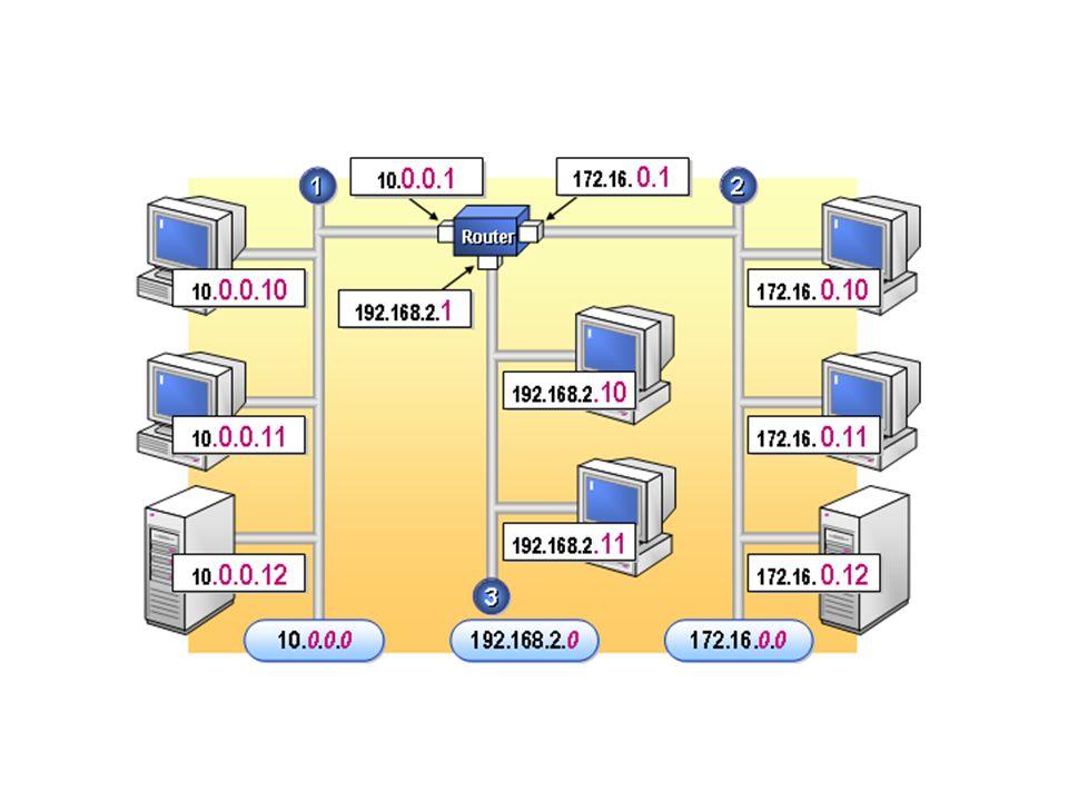 Memberikan Network ID