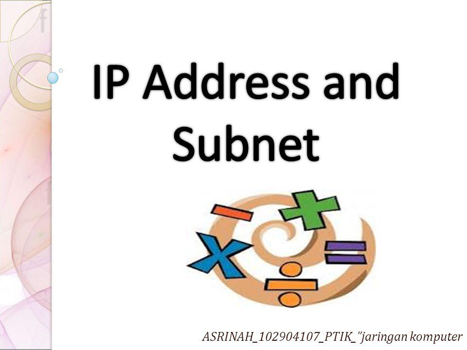 """ASRINAH_102904107_PTIK_""""jaringan komputer"""