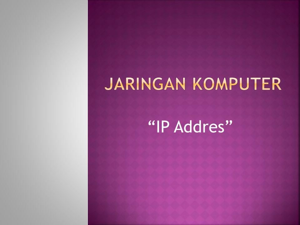 1. Network Address 2. Broadcast Address 3. Multicast Address