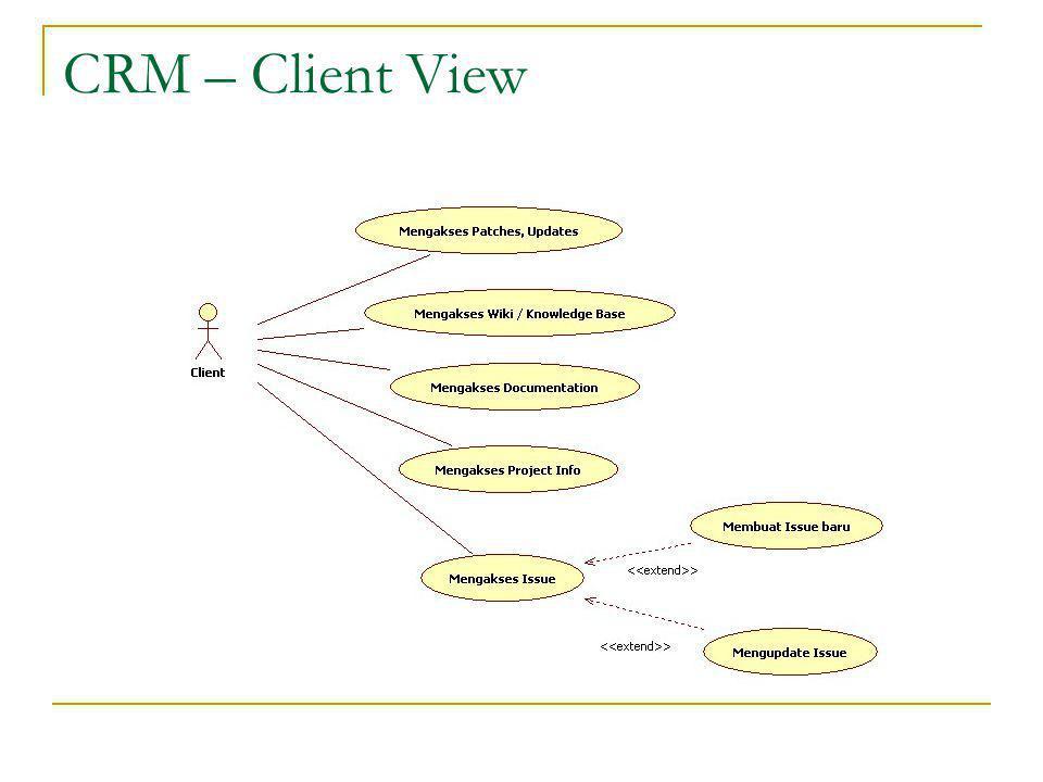 CRM – Client View