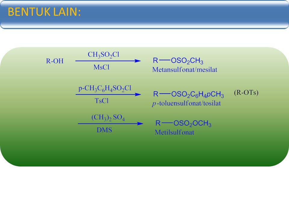 KARBON NUKLEOFILIK: Apakah ciri molekul yang mendorong terbentuknya karbon nuleofilik.