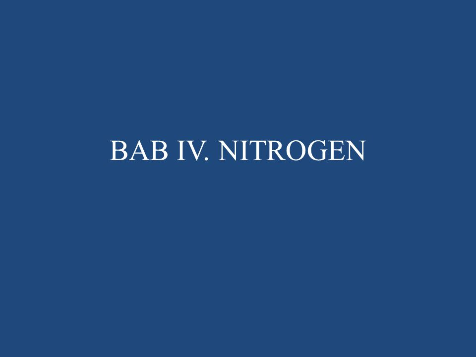 Akumulasi nitrat karena nitrifikasi: Tanah dengan aerasi baik dan reaksi tanah sampai agak masam, kecepatan oksidasi dari NO 2 - ke NO 3 - > oksidasi NH 4 + ke NO 2 -.