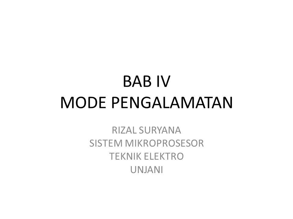 Mode Pengalamatan Pada uP 8088 Merupakan cara memberikan perintah transfer/pemindahan data dari lokasi satu ke lokasi lainnya.