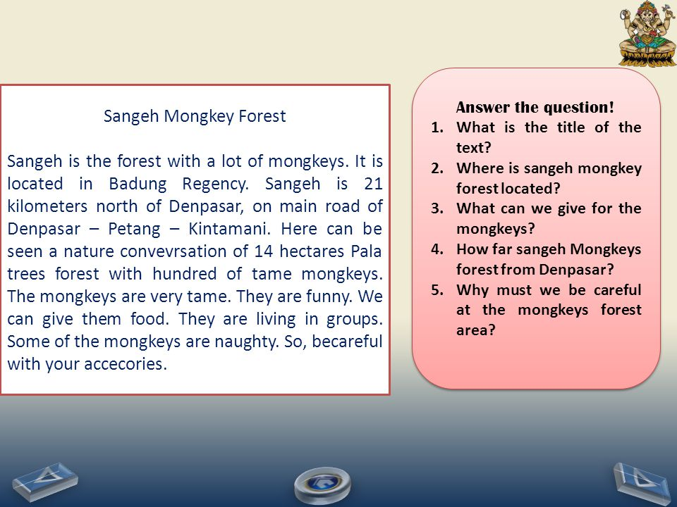 Sangeh Mongkey Forest Sangeh is the forest with a lot of mongkeys.