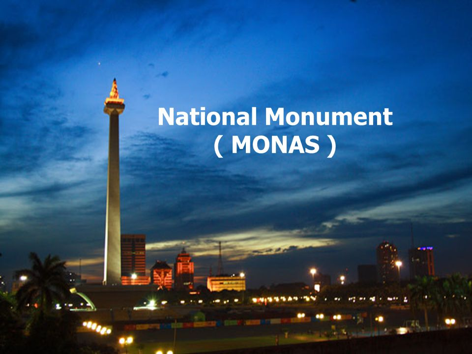 Monas Tower or Monument Height of Monas The Construction of Monas