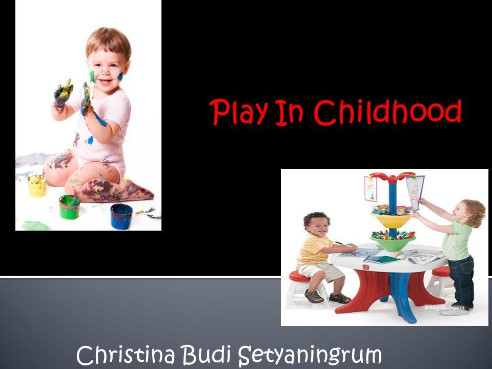  Bermain itu berhubungan dengan stres, bermain dapat mengurangi stres.