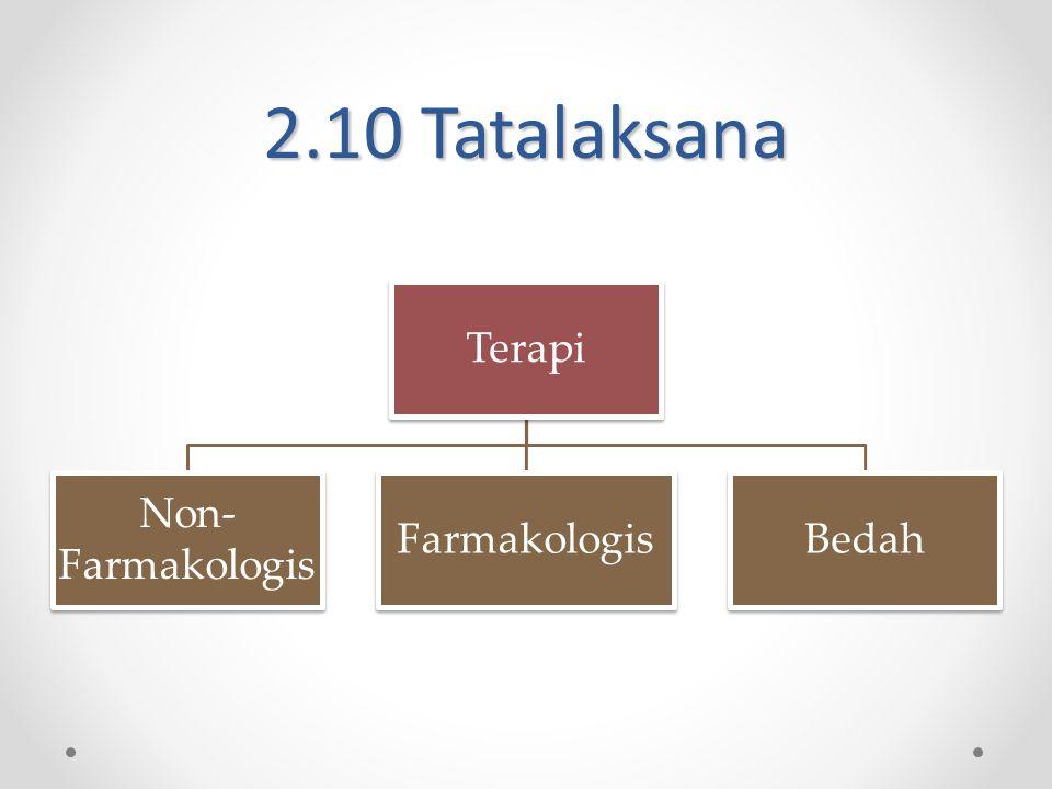 2.10 Tatalaksana Terapi Non- Farmakologis FarmakologisBedah