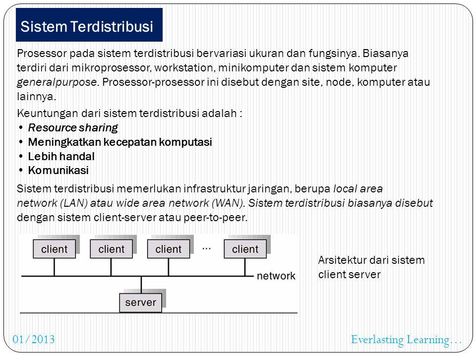 Sistem Paralel Sistem multi prosessor yang sering digunakan adalah model symmetric multiprocessing, dimana setiap prosessor menjalankan sistem operasi