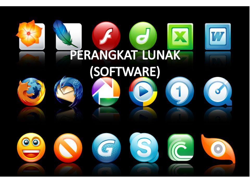 SOFTWARE APLIKASI Yaitu perangkat lunak yang dibuat oleh perusahaan software (Software house) yang berguna untuk menyelesaikan pekerjaan yang sifatnya umum.