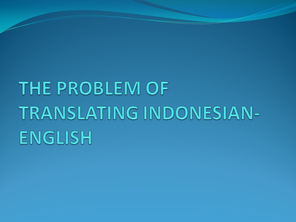 Translation is a challenging job Translation is not an easy work.
