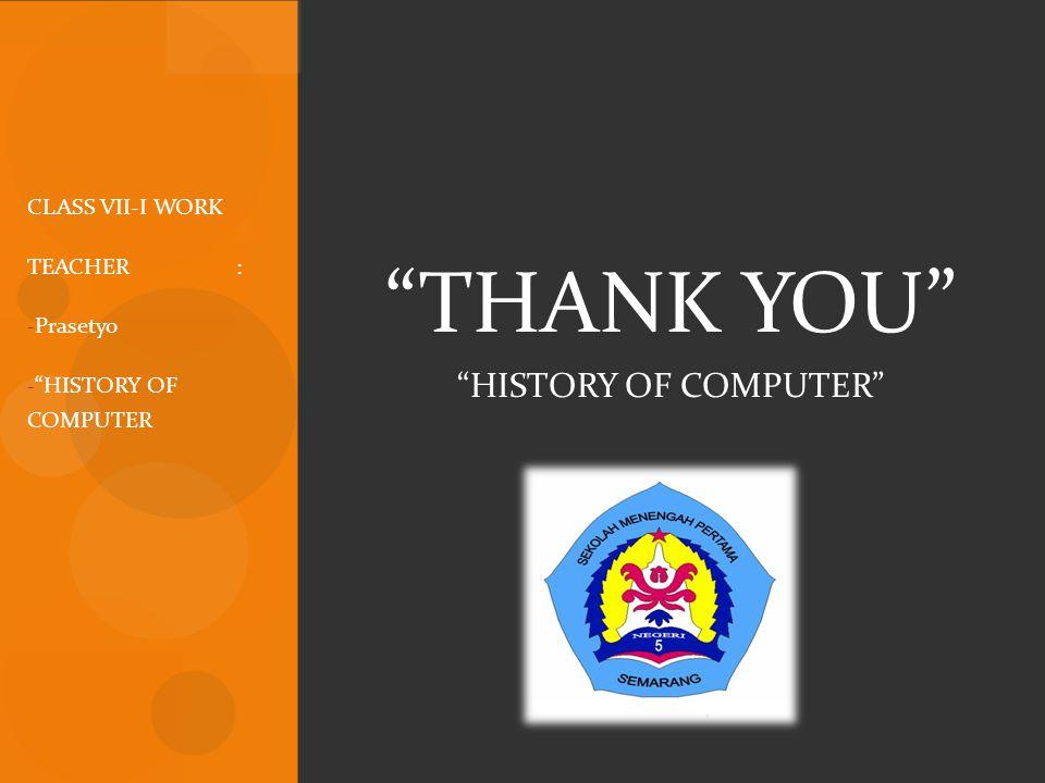  Komputer generasi kelima ( masa depan ) Banyak kemajuan di bidang desain komputer dan teknologi semkain memungkinkan pembuatan komputer generasi kelima.