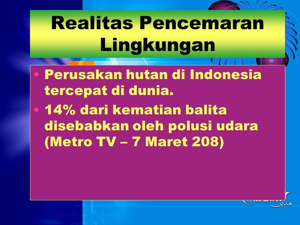 Realitas: Mutu SDM Tahun 2000 (70 %) & Tahun 2004 (60 %) penduduk Indonesia hanya lulus SD, bahkan tidak tamat SD.