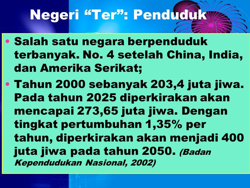 """Negeri """"Ter"""": Pulau Terbanyak jumlah pulaunya. jumlah pulau (yang pasti) di Indonesia masih simpang siur. (Bagaimana bisa yaa…) Jumlah pulau yang ada"""