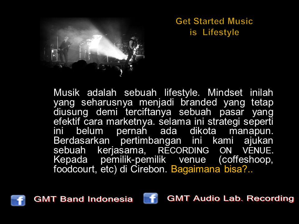 Musik adalah sebuah lifestyle.