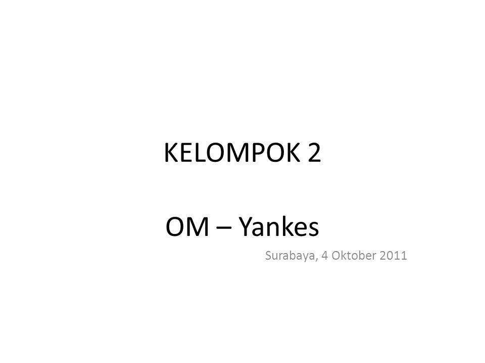 KELOMPOK 2 OM – Yankes Surabaya, 4 Oktober 2011