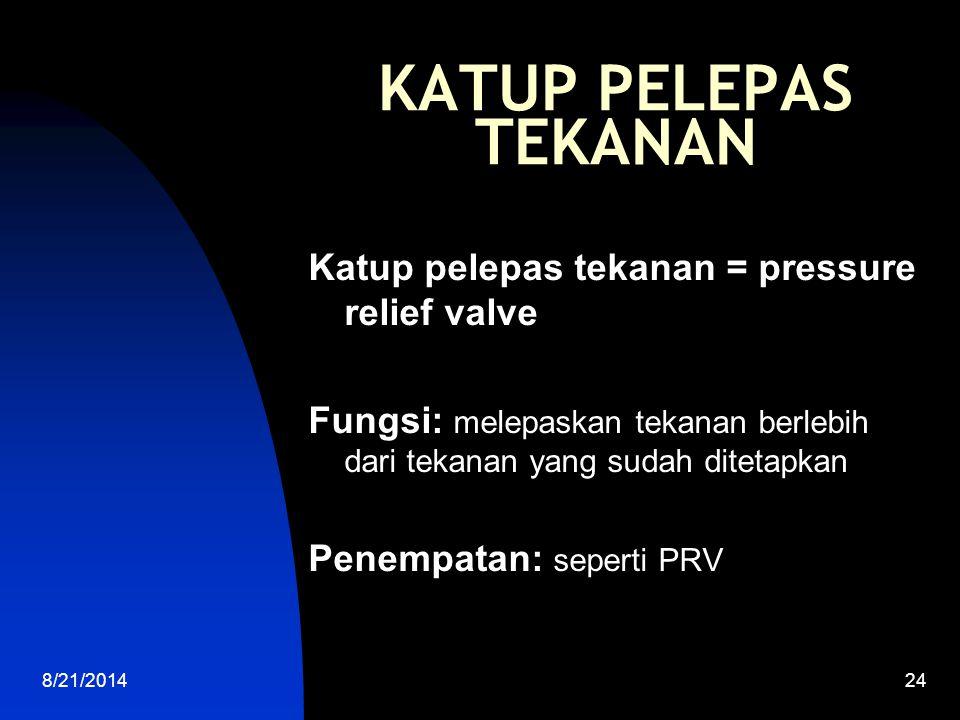 8/21/201425 CONTOH PEMELIHARAAN TERPADU Inspeksi: patroli jalur pipa Testing: a.