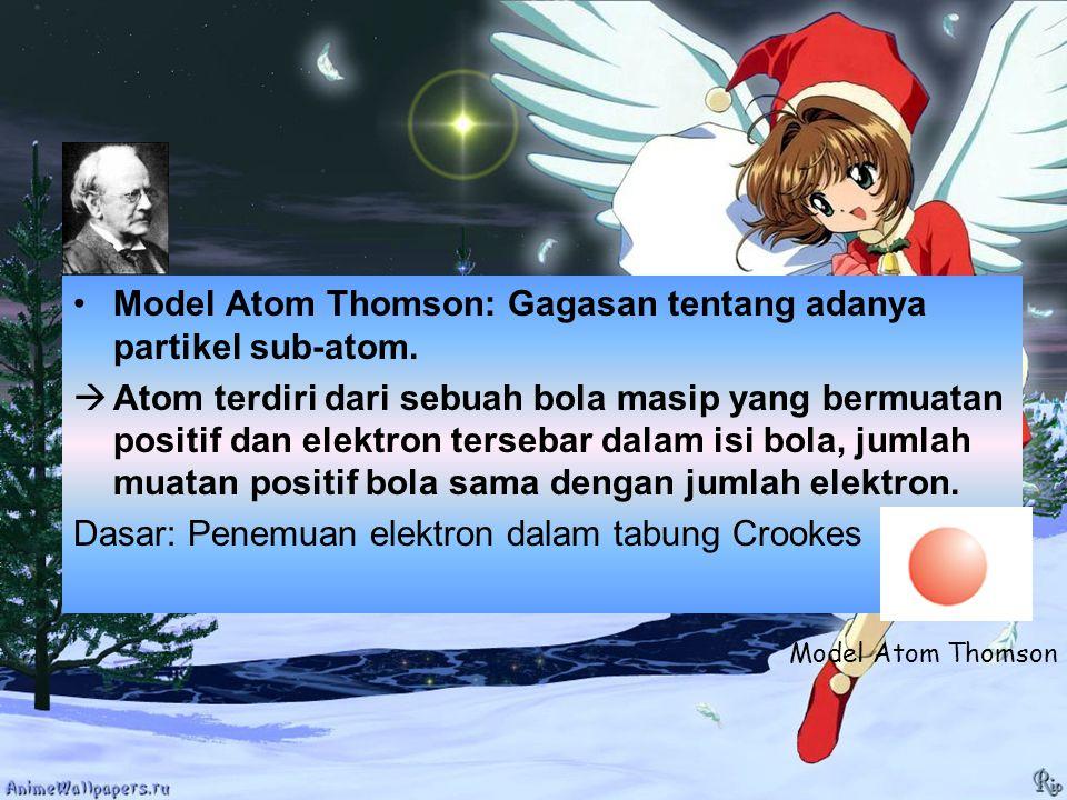 4.Konfigurasi elektron ion Kation (tunggal) X+: Atom netral yang melepas X elektron terluar.