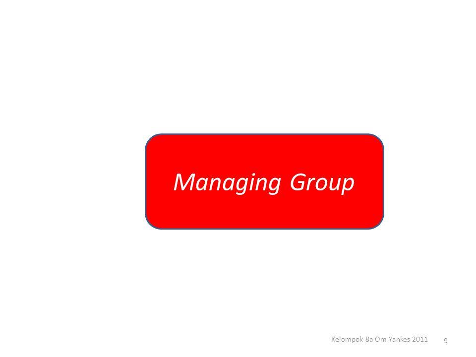 Managing group merupakan sebuah lanjutan dari sebuah teamwork dan team building.