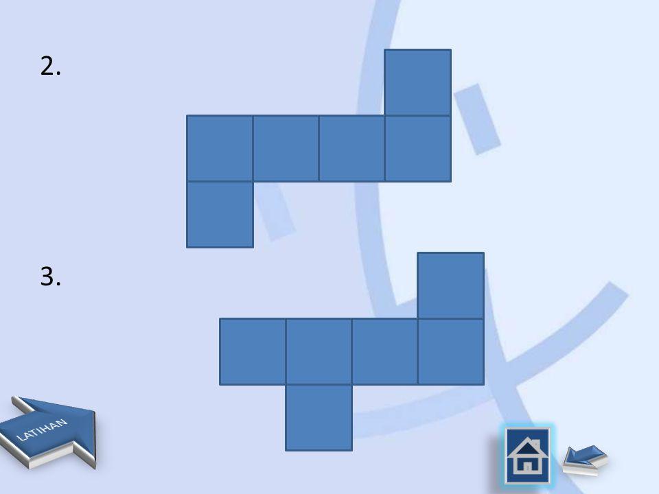 Jaring-jaring kubus 1.