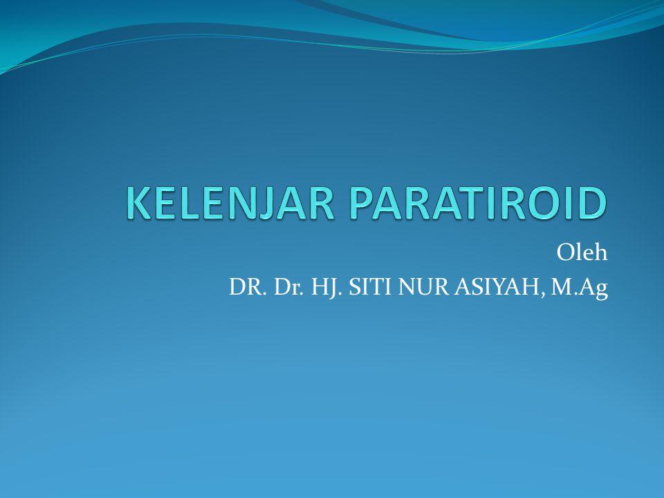 Oleh DR. Dr. HJ. SITI NUR ASIYAH, M.Ag