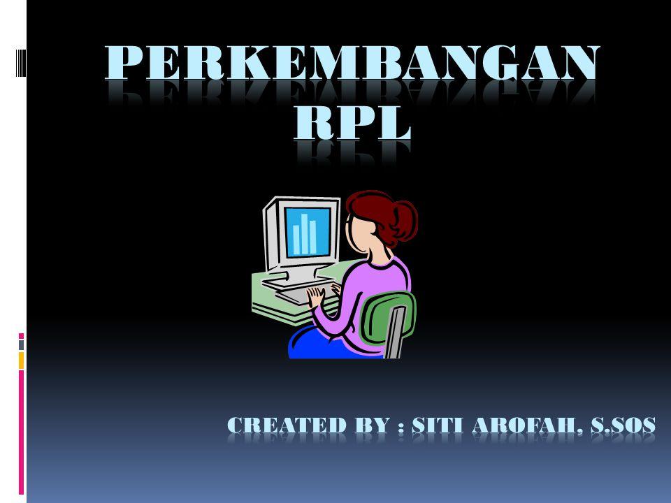 PROFESI DAN SERTIFIKASI Profesi sebagai software engineer mungkin asing ditelinga anda termasuk anda karena kerancuan istilah RPL tadi.